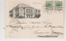 Allemagne LEIPZIG Konzerthaus 1899 - Leipzig