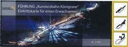 Kunsteisbahn Königsee Eintrittskarte / Führung 2018 Rodel- Und Bobbahn - Eintrittskarten