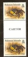 Salomon Solomon 1992 Yvertn°  781  *** MNH Cote 20 Euro Faune Marine Crabes Gutterpair - Salomon (Iles 1978-...)