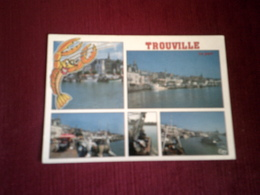 TROUVILLE LE PORT DE PECHE SUR LA TOUQUES LE 29 09 1998 - Trouville