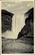 Cp Island, Skogarfoss, Wasserfall - Iceland