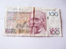 A Vendre 1 Billet Belge De 100 Francs . Petit Prix De Départ - [ 2] 1831-... : Royaume De Belgique