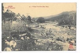 LAOS  -  Village De Thaï-Dam (hua-pahn )   -  L 1 - Laos