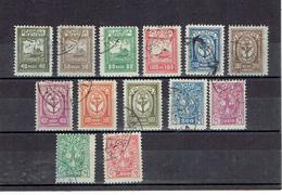 TP -1923 - MEMEL - OCCUPATION LITUANIENNE - OB - N° 126 A 138 - Autres - Europe