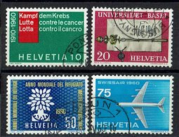 Schweiz 1960 // Mi. 692/695 O (030..415) - Used Stamps
