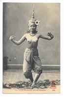 LAOS  -   La Plus Gracieuse Des Ballerines Laotiennes - ## TRES  RARE ##   -  L 1 - Laos