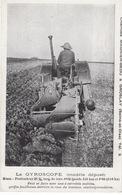 CPA , Agriculture , Tracteur , Le Gyroscope ( Charrues Magnier-Bédu à Groslay ) - Tracteurs
