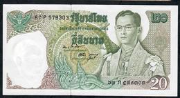 THAILAND P84g 20 BAHT 1971  # 67P    Signature 47       AU - Thailand
