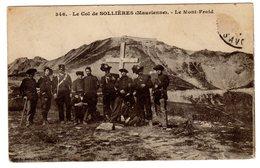 CPA Militaria Maurienne Sollières Sardières 74 Savoie Chasseurs Alpins Col Devant Croix Mont Froid éd Grimal Chambery - France