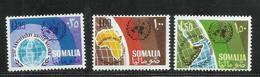 SOMALIA 1966 UN UNITED NATIONS ANNIVERSARY ANNIVERSARIO NAZIONI UNITE ONU UNO SERIE COMPLETA COMPLETE SET MNH POST AFIS - Somalia (1960-...)