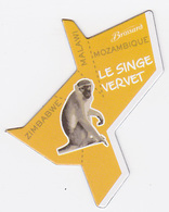 Magnet Brossard - Afrique, Mozambique, Malawi, Zimbabwe, Singe Vervet - Magnets