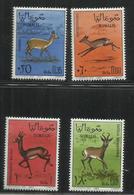 SOMALIA 1967 FAUNA ANIMALI ANIMALS GAZZELLA GAZELLE SERIE COMPLETA COMPLETE SET MNH POST AFIS - Somalia (1960-...)