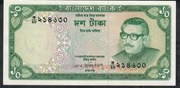 BANGLADESH P14 10 TAKA 1973 Signature 1b    UNC. - Bangladesh