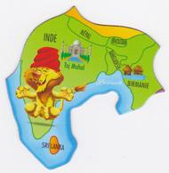 Magnet Brossard - Asie, Inde, Népal, Bhoutan, Bangladesh, Birmanie, Sri Lanka - Magnets