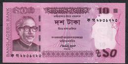 BANGLADESH P54a 10 TAKA 2012  UNC. - Bangladesh