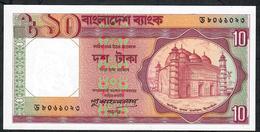 BANGLADESH P26f 10 TAKA 1982  / 1 Letter Prefix  /  Signature 6   UNC. - Bangladesh