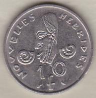 Nouvelles-Hébrides 10 Francs 1967 En Nickel - Vanuatu