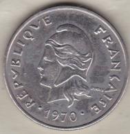 Nouvelles-Hébrides 20 Francs 1970 En Nickel - Vanuatu