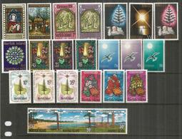 Emissions Noël Des Années 1970 à 1979.   23 Timbres Neufs **  Côte 25,00 Euro - Norfolk Island