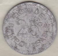Sté Anonyme De La Grande Comore 25 Centimes (1915) Frappe Monnaie, Aluminium - Comores