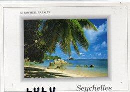 AFRIQUE : Seychelles Le Rocher Praslin : Photo Dino Sassi N° 313 , Timbre Victoria - Seychelles