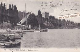 THONON LES BAINS - Dépt 74 - Le Port - 1915 - Thonon-les-Bains
