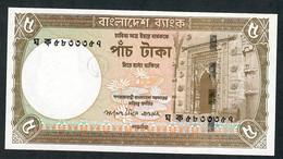 BANGLADESH P46 5 TAKA 2006 Signature 9    UNC. - Bangladesh
