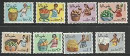 SOMALIA 1968 AGRICULTURE PRODOTTI DELL'AGRICULTURA AGRICULTARAL PRODUCTS SERIE COMPLETA COMPLETE SET MNH POST AFIS - Somalia (1960-...)