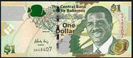 BAHAMAS P71 1 DOLLAR. 2008.  # D       UNC. - Bahamas
