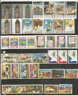 Emissions Noël Des Années 1980 à 1989.   40 Timbres Neufs **  Côte 55,00 Euro - Norfolk Island