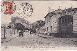 Faiencerie  Boulenger - Choisy Le Roi - Avenue De L' Hôtel De Ville - 1912 - Choisy Le Roi