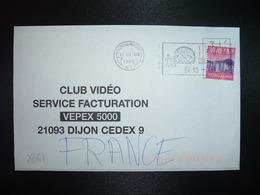 LETTRE Pour La FRANCE TP 3 10 OBL.MEC.16 01 99 - Covers & Documents