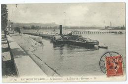 Environs De Lyon La Muletiere L'ecluse Et Le Barrage - Sonstige Gemeinden