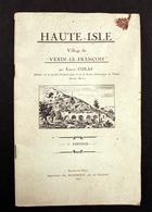 Haute-Isle Village Du Vexin Français Par Ernest Colas 3 ème édition 1931 - Normandie
