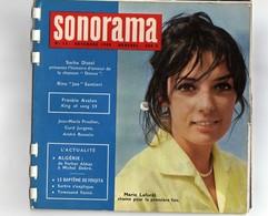 SONORAMA N° 13 DE NOVEMBRE 1959 COUVERTURE MARIE LAFORET (6 DISQUES SOUPLES) - Collectors