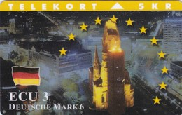 Denmark, TP 113, ECU-Germanz, Mint Only 1.250 Issued, Castle, Flag, 2 Scans. - Denmark