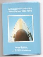 Jb5.v- Pochette 13 CP PAQUEBOT LINER Chantiers Atlantique France RCCL NCL SNCM - Sciences & Technique