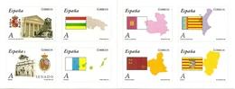 SPAIN, 2010, Booklet 62,  Autonomias (Flags) - 1931-Today: 2nd Rep - ... Juan Carlos I