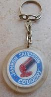 Porte  Clefs:        COUDERT  - JAMBON SAUCISSON  -  Le Meilleur Le Moins Cher - Porte-clefs
