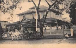 CPA AMERICAN CONSULATE, TAHITI - Onening Day December 5 1907 - Tahiti