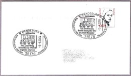 VEHICULO POSTAL - 100 Jahre Kraft-Omnibuslinie Wendeburg-Brauschweig. Wendeburg 2004 - Correo Postal