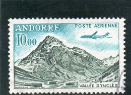 ANDORRE FR. 1961-4 O - Poste Aérienne