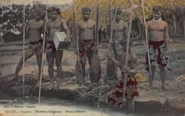 CPA TAHITI Papeete - Pêcheurs Indigènes - Tahiti