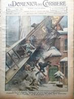 La Domenica Del Corriere 26 Dicembre 1920 Fiume Giuseppe Ugolini Trincea Messina - Libri, Riviste, Fumetti