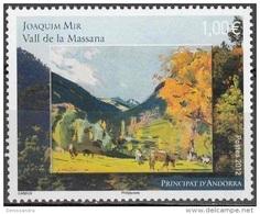 Andorre Français 2012 Yvert 720 Neuf ** Cote (2015) 3.30 Euro Joaquim Mir Vall De La Massana - Andorre Français