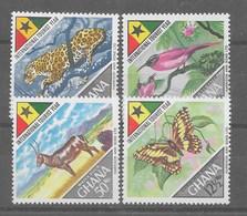 Serie De Ghana Nº Yvert 303/06 ** - Ghana (1957-...)