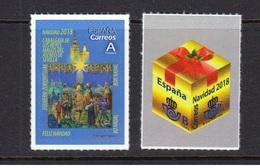 Spain 2018 - Christmas Stamp Set Mnh - 2011-... Gebraucht