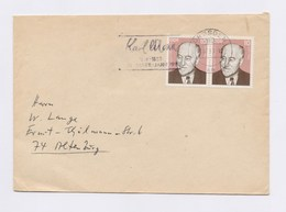 DDR Brief MeF 2265 + MWSt DRESDEN, Karl Marx Karl-Marx-Jahr 1983 - Covers & Documents