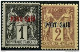 Port Said (1899) N 1+2 * (charniere) - Neufs