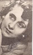 PINA CEI, PUERTO RICO ACTRIZ. CIRCA 1949. SIZE 8x13 Cm- BLEUP - Autographes